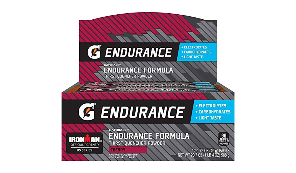 Gatorade Endurance Thirst Quencher Powder - Singles - Flavor: Cherry - Size: Box of 12, Cherry, large, image 2