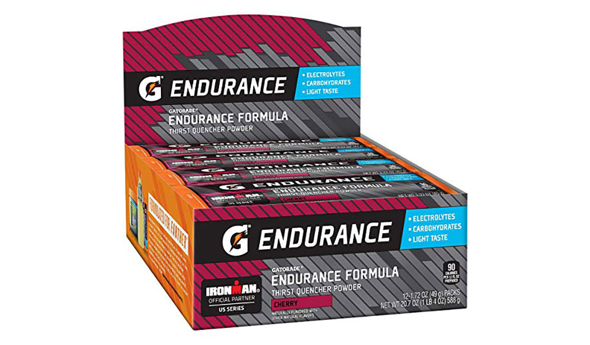 Gatorade Endurance Thirst Quencher Powder - Singles - Flavor: Cherry - Size: Box of 12, Cherry, large, image 3
