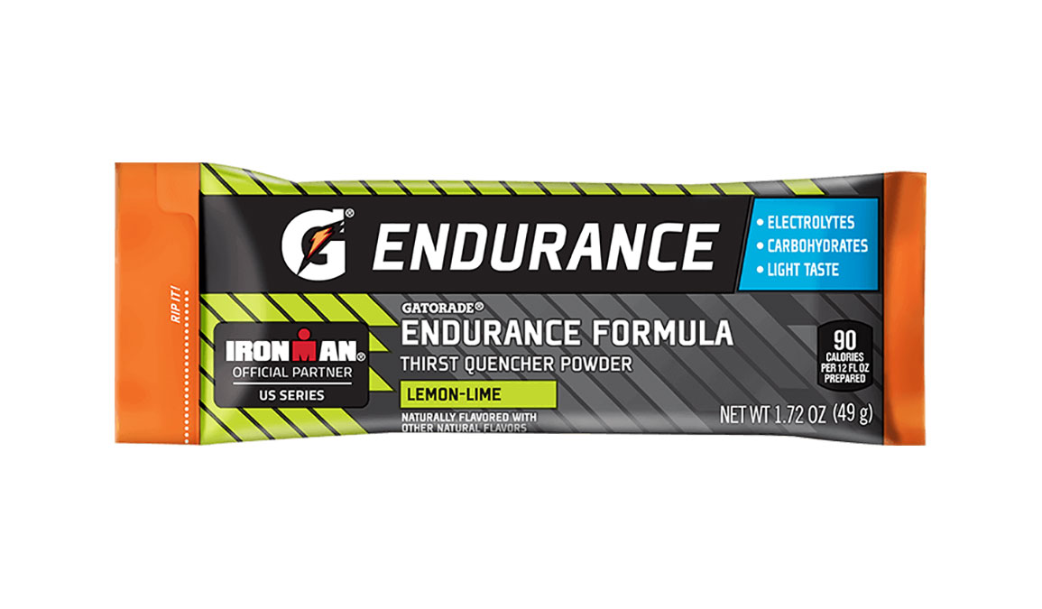 Gatorade Endurance Thirst Quencher Powder - Singles - Flavor: Lemon Lime - Size: Box of 12, Lemon Lime, large, image 1