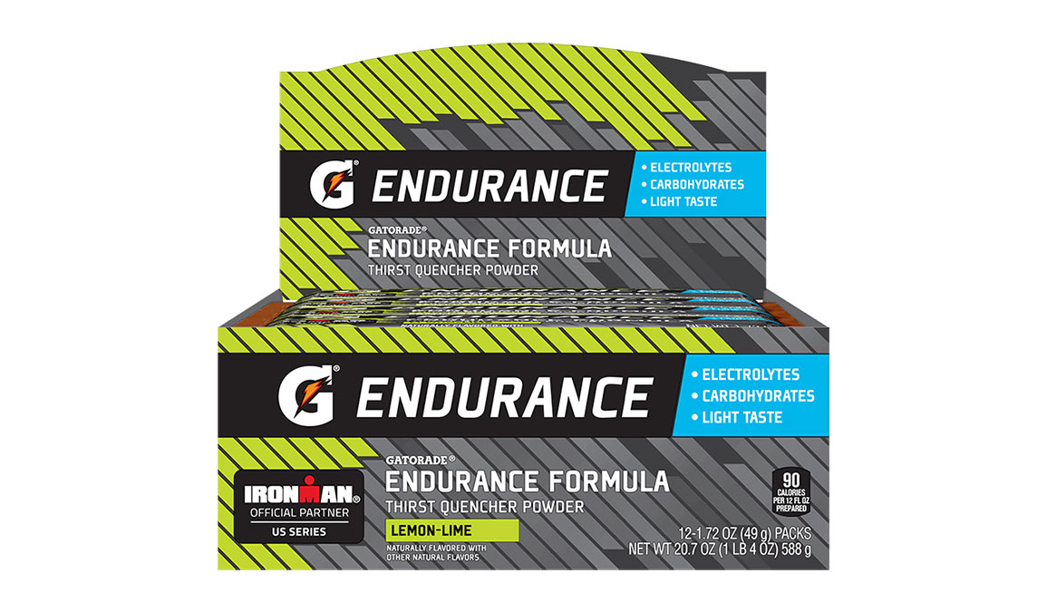 Gatorade Endurance Thirst Quencher Powder - Singles - Flavor: Lemon Lime - Size: Box of 12, Lemon Lime, large, image 2