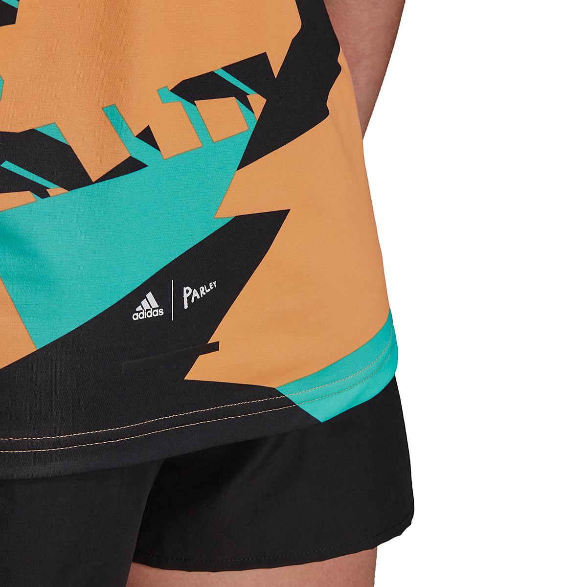 Women's Adidas Terrex Parley Agravic TR Tank Top - Color: Hazy Orange - Size: XS, Hazy Orange, large, image 5