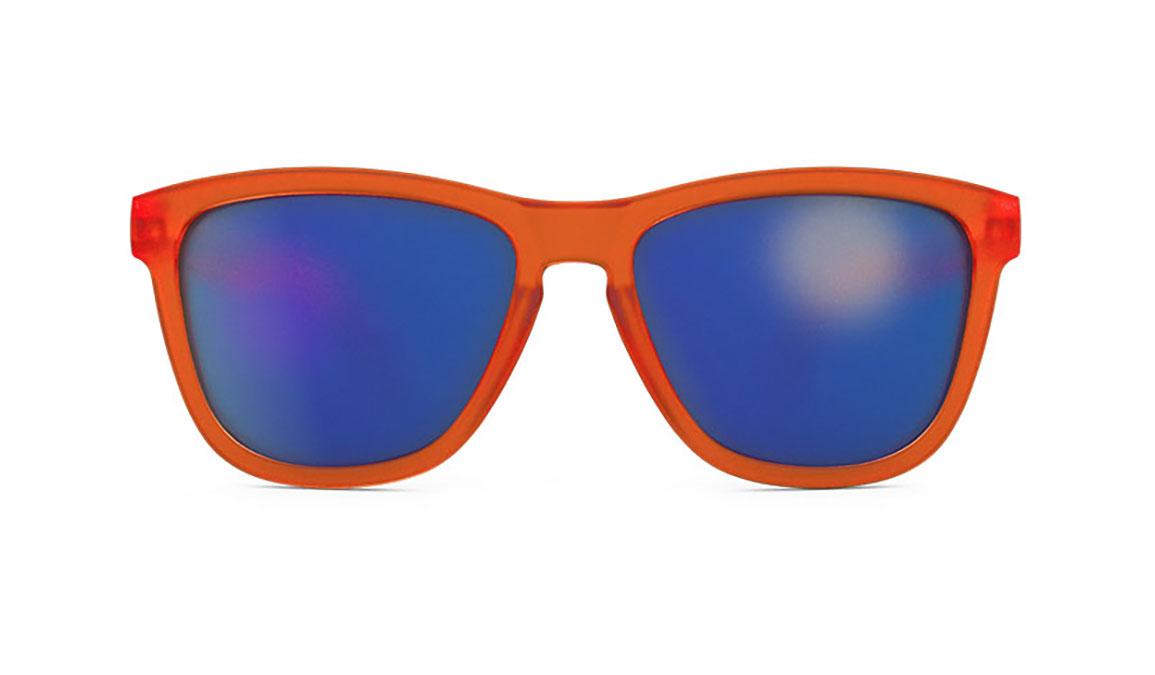 Goodr Donkey Goggles - Color: Orange/Blue Size: OS, Orange/Blue, large, image 2