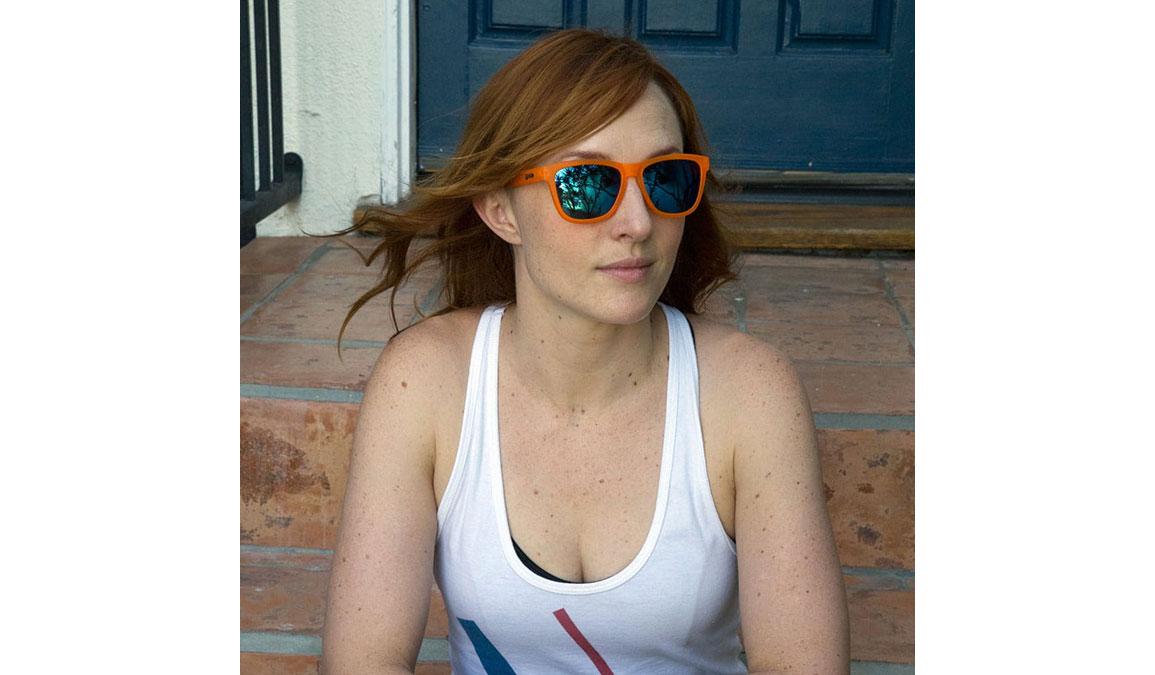Goodr Donkey Goggles  - Color: Orange/Blue Size: OS, Orange/Blue, large, image 4