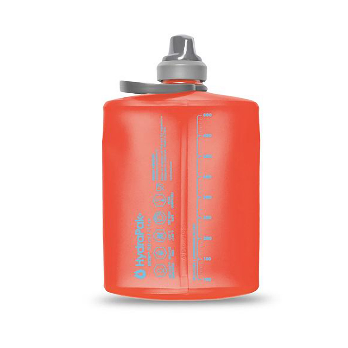 Hydrapak Stow 500 mL Collapsible Water Bottle - Color: Redwoods - Size: 500 mL, Redwoods, large, image 2