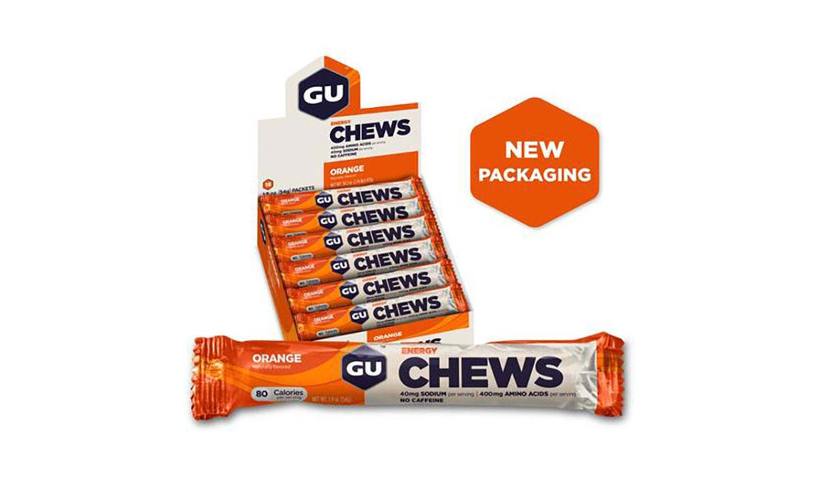 GU Energy Chews - Flavor: Orange, Orange, large, image 1