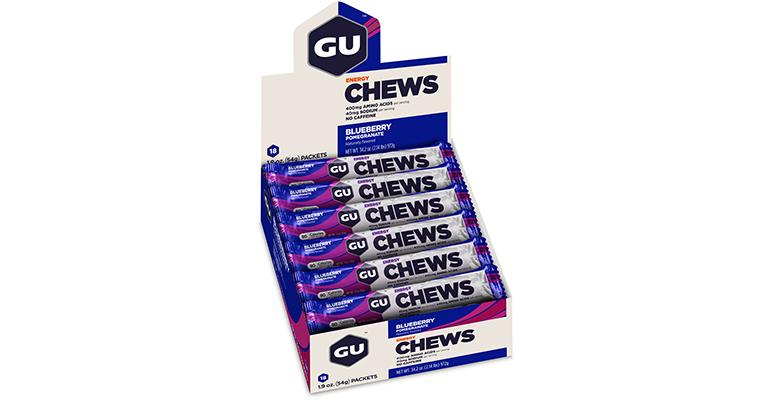 GU Energy Chews - Flavor: Blueberry Pomegranate - Size: Box of 18, Blueberry Pomegranate, large, image 2