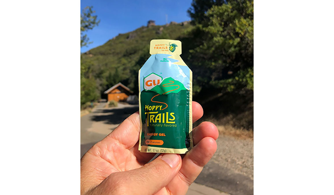 GU Energy Gel Hoppy Trails - Flavor: Hoppy Trails Size: Box of 24, Green, large, image 2