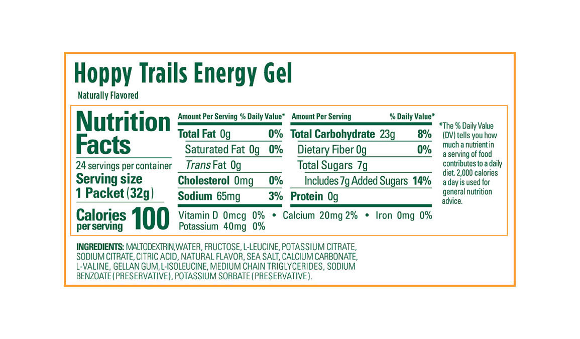 GU Energy Gel - Flavor: Hoppy Trails - Size: Box of 24, Hoppy Trails, large, image 3