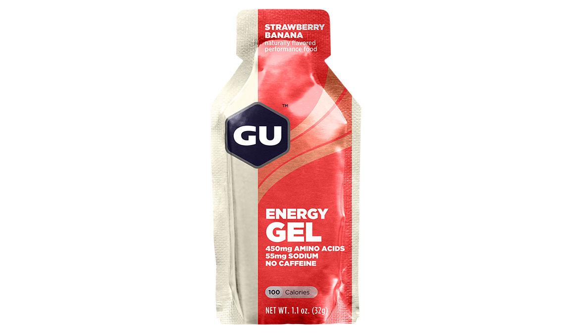 GU Energy Gel - Flavor: Strawberry Banana - Size: Box of 24, Strawberry Banana, large, image 1