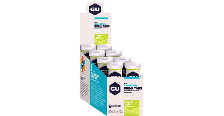 GU Hydration Drink Tabs - Flavor: Lemon Lime - Size: Box of 8, Lemon Lime, large, image 1