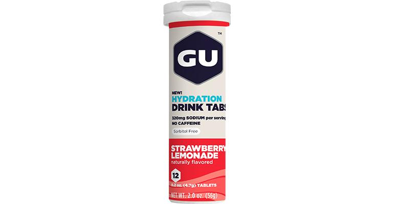 GU Hydration Drink Tabs - Flavor: Strawberry Lemonade - Size: Box of 8, Strawberry Lemonade, large, image 1