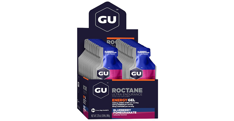 GU Roctane Energy Gel - Flavor: Blueberry - Size: Box of 24, Blueberry, large, image 2