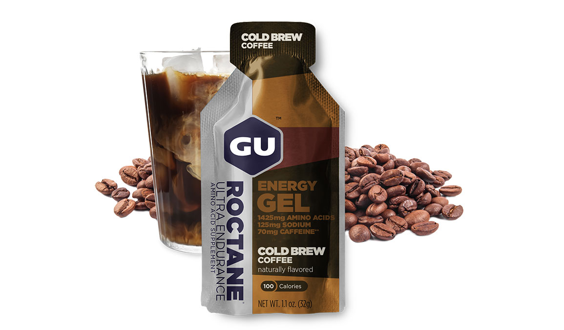 Gu Roctane Energy Gel - Flavor: Cold Brew Coffee - Size: Box of 24, Coffee, large, image 2