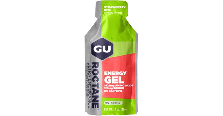 GU Roctane Energy Gel - Flavor: Strawberry Kiwi - Size: 15 Servings, Strawberry Kiwi, large, image 1