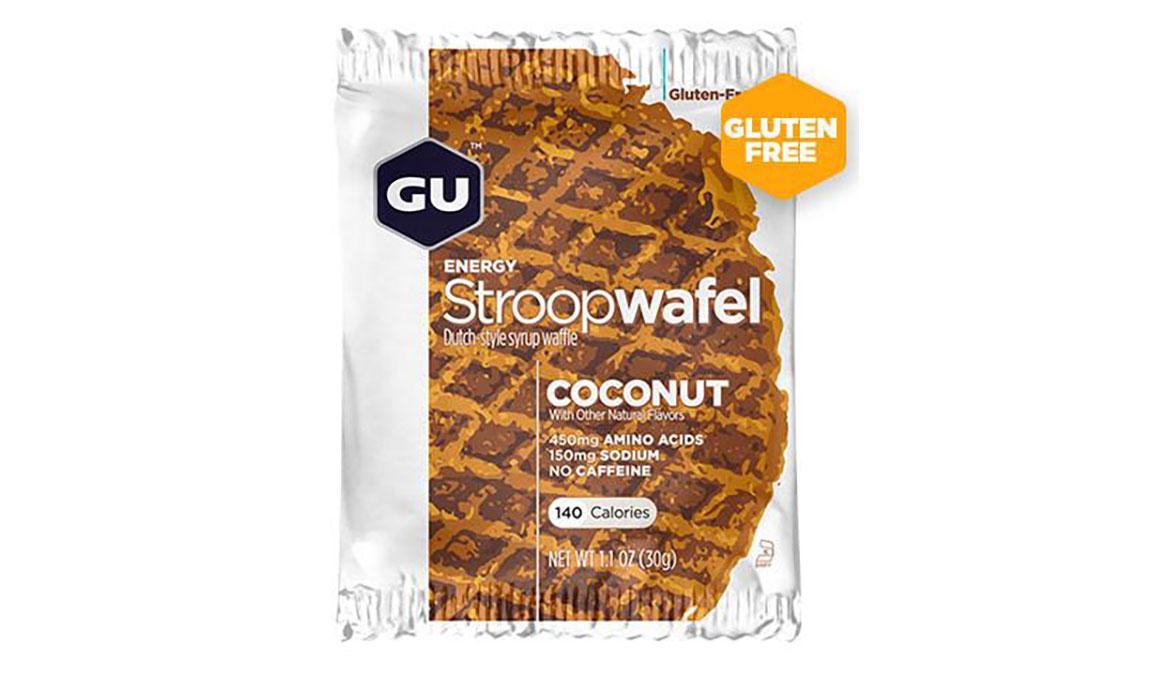 GU Stroopwafel - Box  - Flavor: Coconut Size: Box of 16, Coconut, large, image 1
