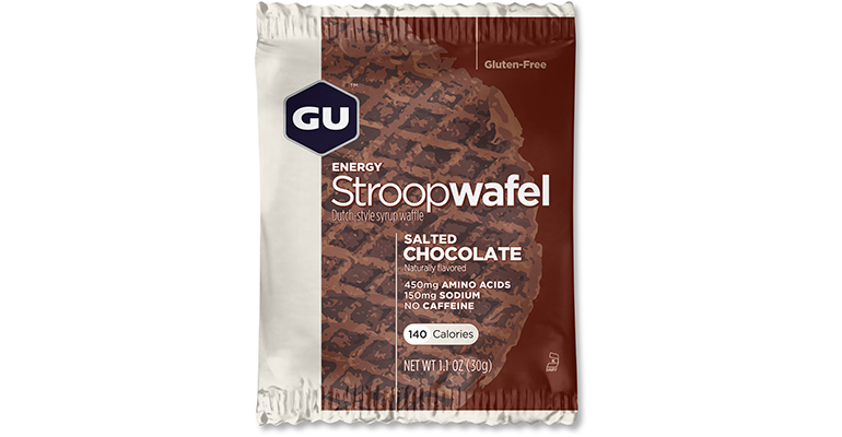 GU Stroopwafel - Flavor: Salted Chocolate - Size: Box of 16, Salted Chocolate, large, image 1