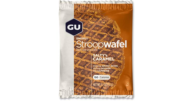 GU Stroopwafel - Box - Flavor: Salty's Carmel - Size: Box of 16, Salty Caramel, large, image 1
