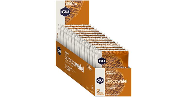 GU Stroopwafel - Box - Flavor: Salty's Carmel - Size: Box of 16, Salty Caramel, large, image 2