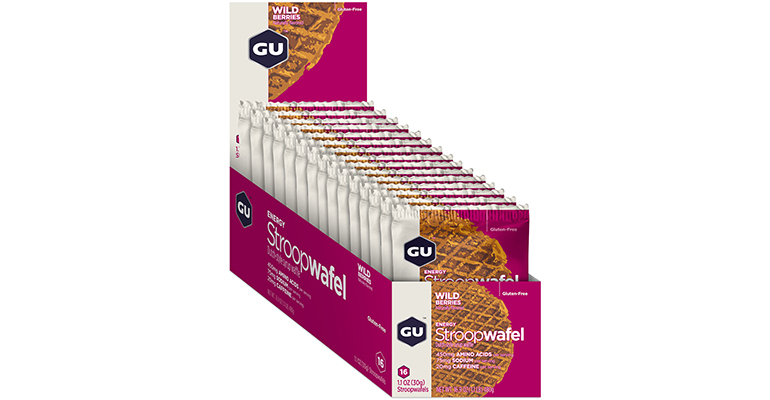 GU Stroopwafel - Box - Flavor: Wild Berries - Size: Box of 16, Wild Berry, large, image 2
