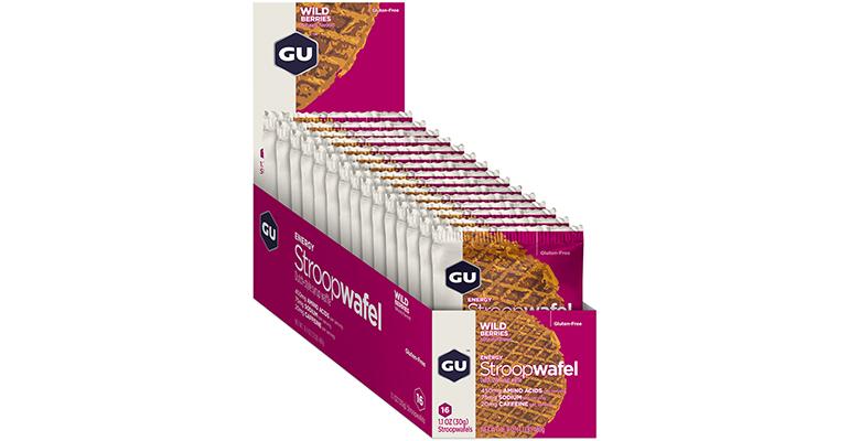 GU Stroopwafel - Flavor: Wild Berries - Size: Box of 16, Wild Berry, large, image 2
