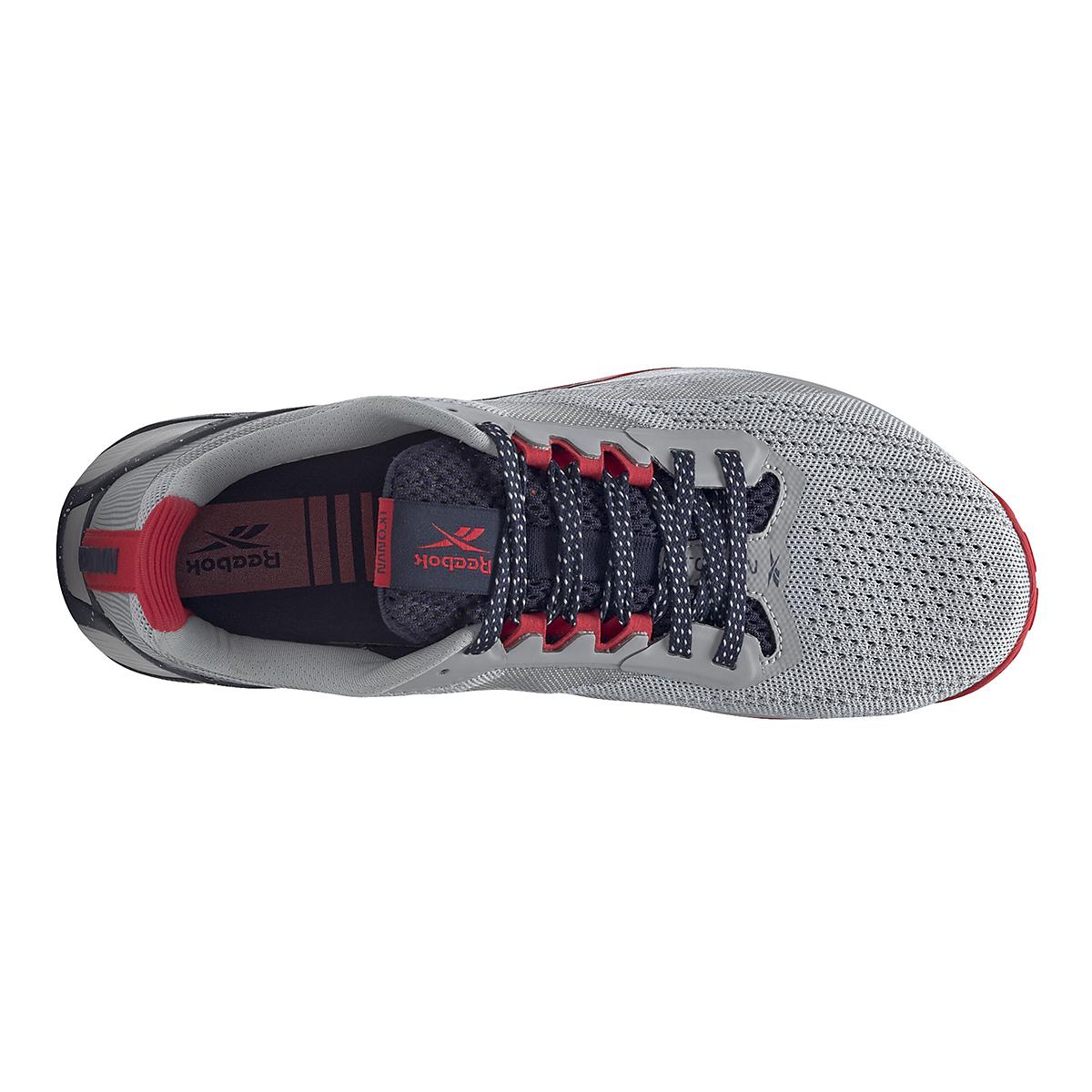 Men's Reebok Nano X1 Training Shoe - Color: Pure Grey/Vector Navy/Vector Red - JackRabbit Exclusive - Size: 8 - Width: Regular, Pure Grey/Vector Navy/Vector Red - JackRabbit Exclusive, large, image 2