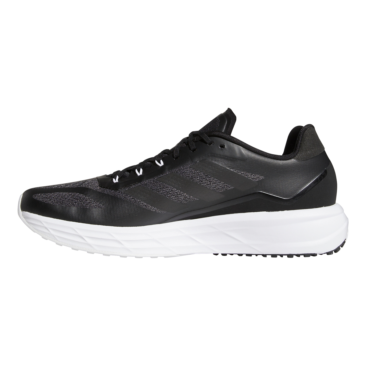 Men's Adidas SL20.2 Running Shoe - Color: Core Black/Grey - Size: 6.5 - Width: Regular, Core Black/Grey, large, image 2