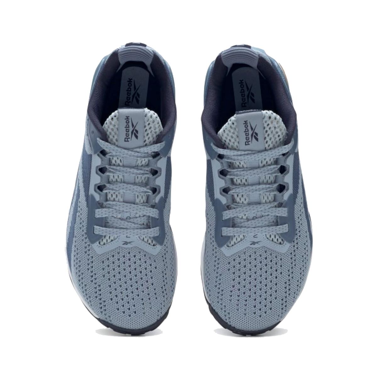 Women's Reebok Nano X1 Training Shoe - Color: Gable Grey/Blue Slate/Vector Navy - Size: 5 - Width: Regular, Gable Grey/Blue Slate/Vector Navy, large, image 3