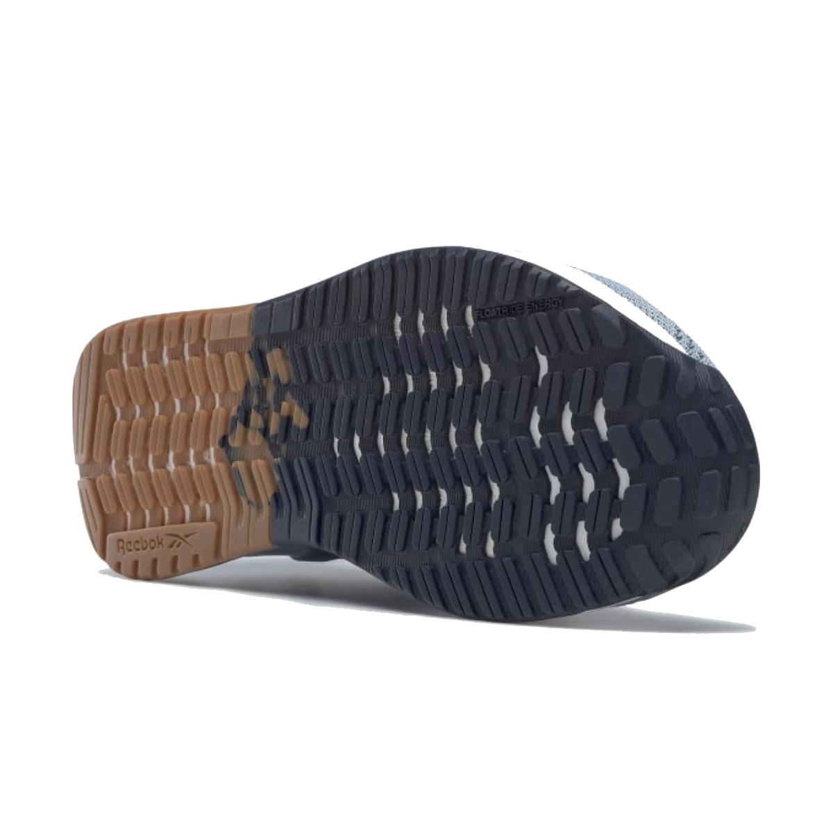 Women's Reebok Nano X1 Training Shoe - Color: Gable Grey/Blue Slate/Vector Navy - Size: 5 - Width: Regular, Gable Grey/Blue Slate/Vector Navy, large, image 4