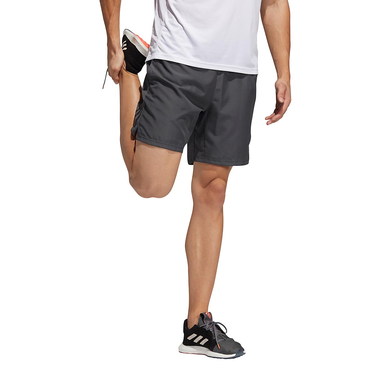 Men's Adidas Own The Run Shorts, , large, image 3