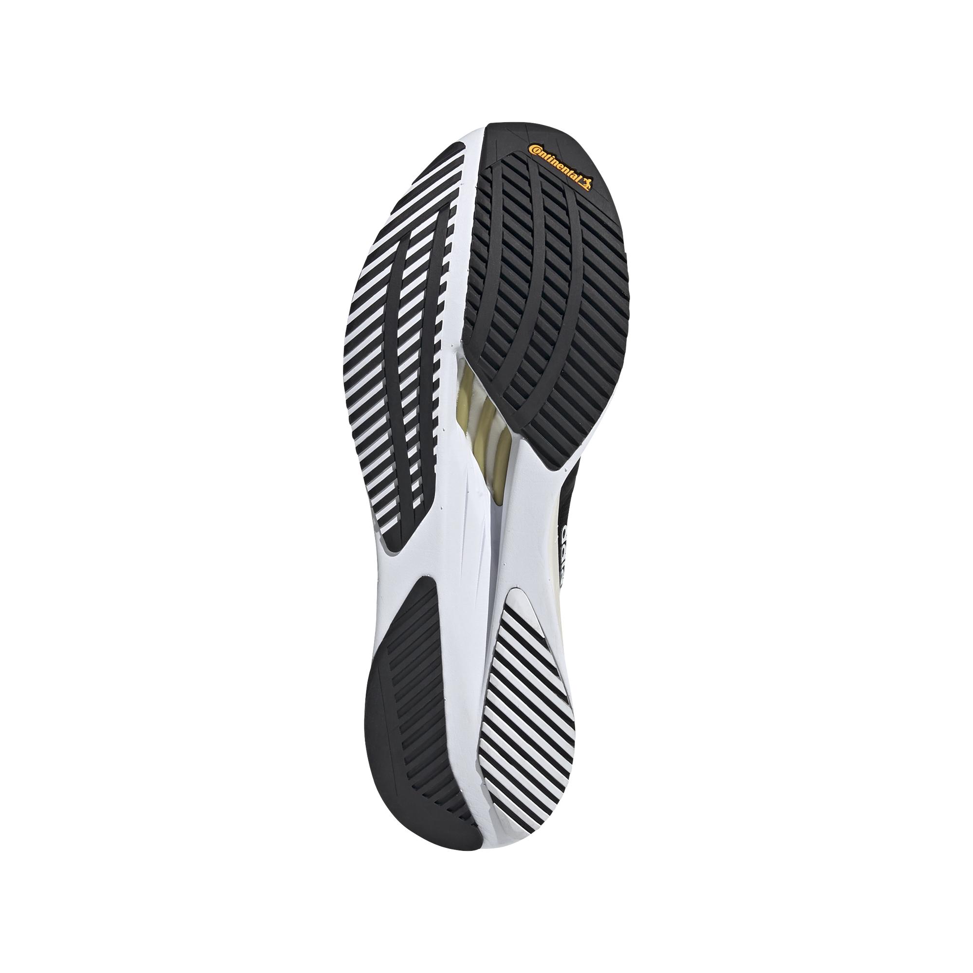 Men's Adidas Adizero Boston 10 Running Shoe - Color: Core Black / Cloud White / Gold Metallic - Size: 6.5 - Width: Regular, Core Black / Cloud White / Gold Metallic, large, image 4