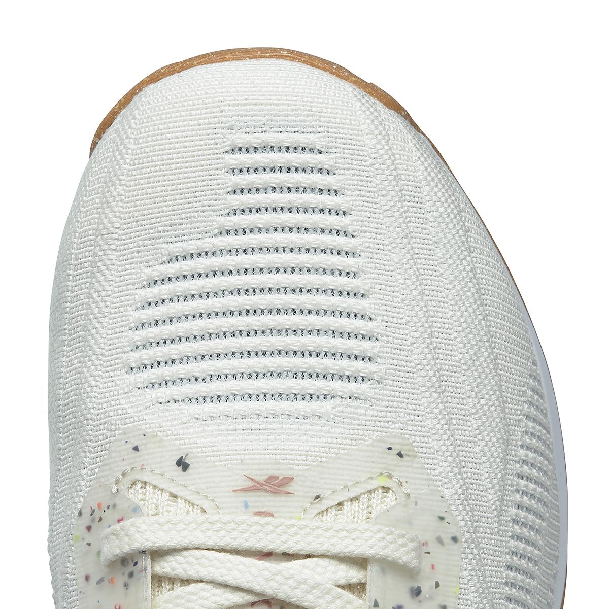 Men's Reebok Nano X1 Vegan Training Shoe - Color: Classic White/Harmony Green/Brave Blue - Size: 7.5 - Width: Regular, Classic White/Harmony Green/Brave Blue, large, image 5