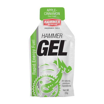 Hammer Nutrition Hammer Gel - Flavor: Apple Cinnamon - Size: Box of 24, Apple Cinnamon, large, image 1