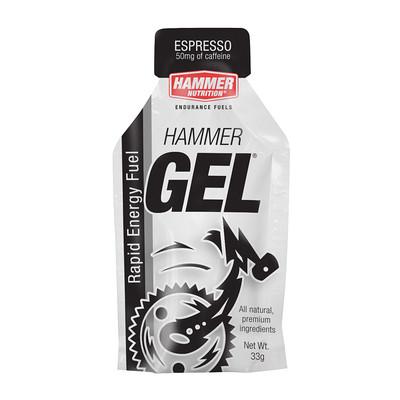 Hammer Nutrition Hammer Gel - Flavor: Espresso - Size: Box of 24, Espresso, large, image 1