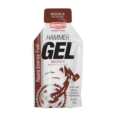 Hammer Nutrition Hammer Gel - Flavor: Hazelnut Chocolate - Size: Box of 24, Hazelnut Chocolate, large, image 1