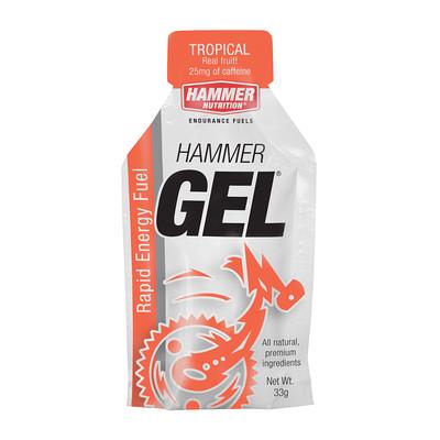 Hammer Nutrition Hammer Gel - Flavor: Tropical Fruit - Size: Box of 24, Tropical Fruit, large, image 1