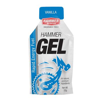 Hammer Nutrition Hammer Gel - Flavor: Vanilla - Size: Box of 24, Vanilla, large, image 1