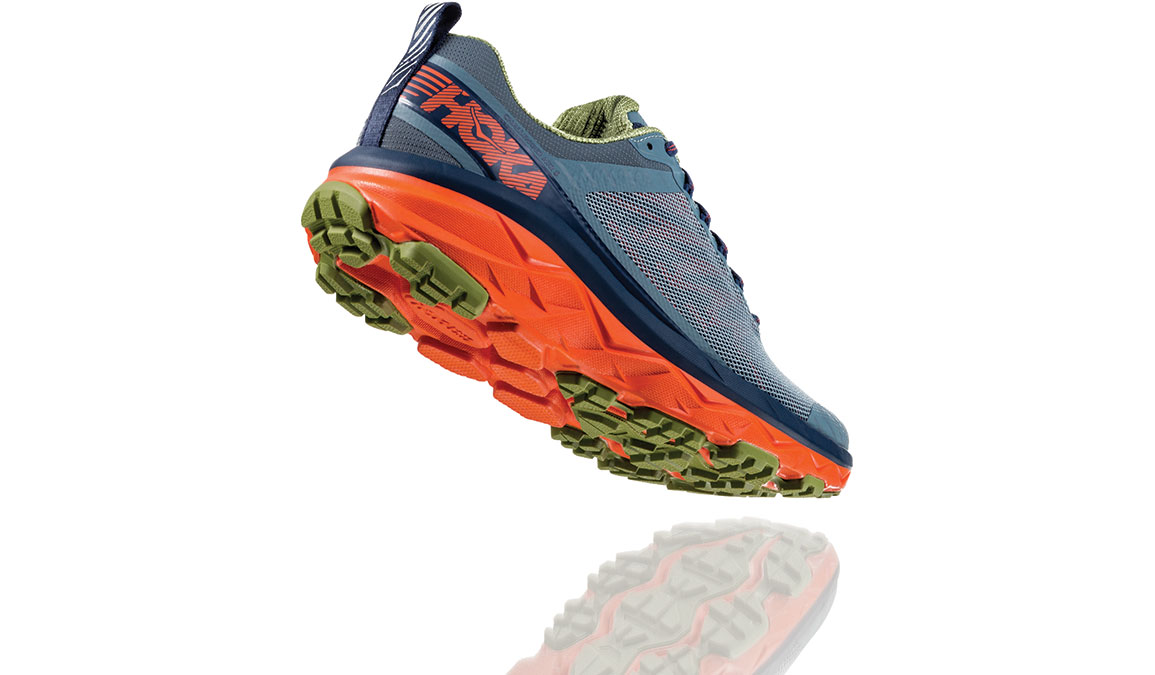 Men's Hoka One One Challenger ATR 5 Trail Running Shoe - Color: Stormy Weather/Moonlit Ocean (Regular Width) - Size: 9.5, Stormy Weather/Moonlit Ocean, large, image 3