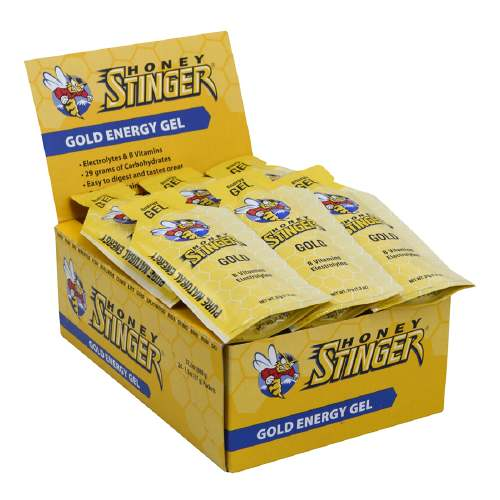 Honey Stinger Energy Gel - Flavor: Gold - Size: Box of 24, Gold, large, image 1