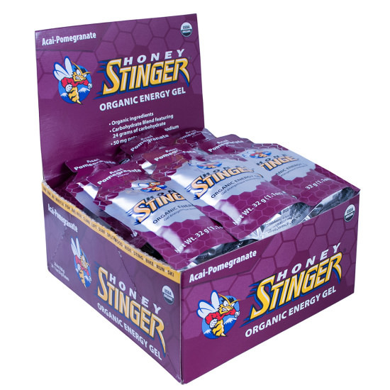 Honey Stinger Energy Gel - Flavor: Acai Pomegranate - Organic - Size: Box of 24, Acai Pomegranate, large, image 1