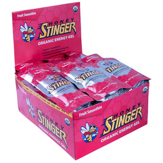 Honey Stinger Energy Gel - Flavor: Fruit Smoothie - Organic - Size: Box of 24, Fruit Smoothie, large, image 1