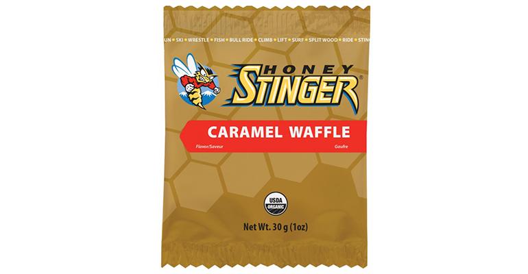 Honey Stinger Waffles - Flavor: Caramel - Size: Box of 16, Caramel, large, image 1