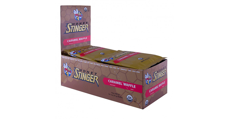 Honey Stinger Organic Waffles - Caramel - Box of 16 - Color: Caramel - Size: One Size, Caramel, large, image 2
