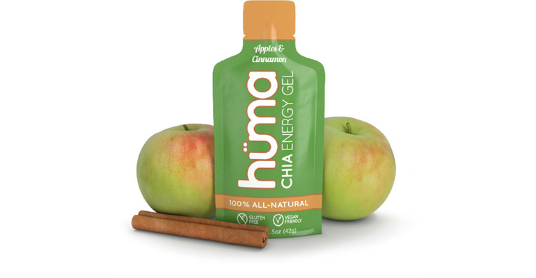 Huma Chia Energy Gel - Flavor: Apple - Size: Box of 24, Apple, large, image 2