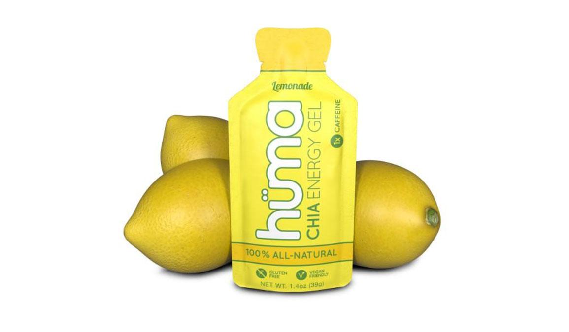 Huma Chia Energy Gel - Flavor: Lemonade - Size: Box of 24, Lemonade, large, image 1