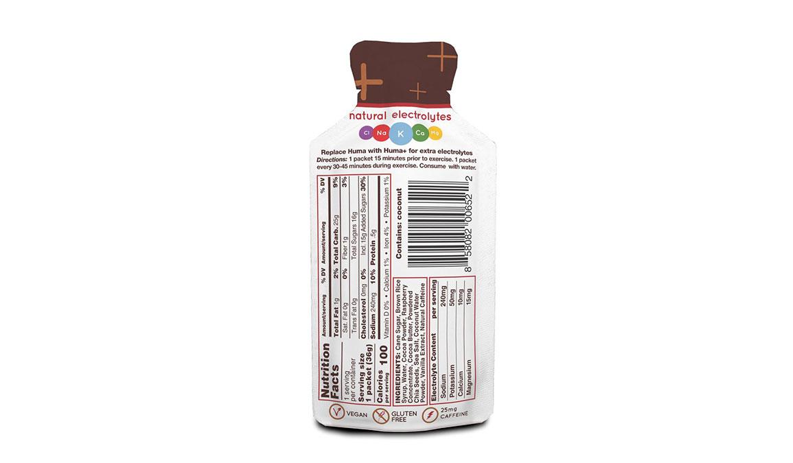 Huma Plus Chia Energy Gel - Flavor: Chocolate Raspberry - Size: Box of 24, Chocolate Raspberry, large, image 2