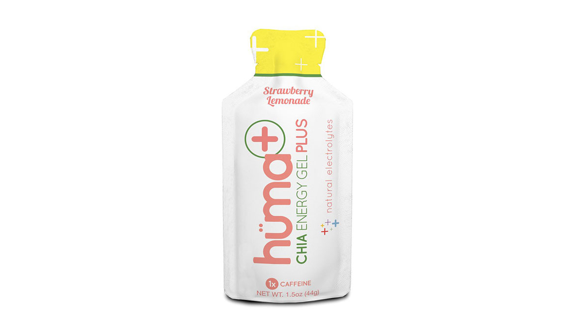 Huma Plus Chia Energy Gel - Flavor: Strawberry Lemonade - Size: Box of 24, Strawberry Lemonade, large, image 1