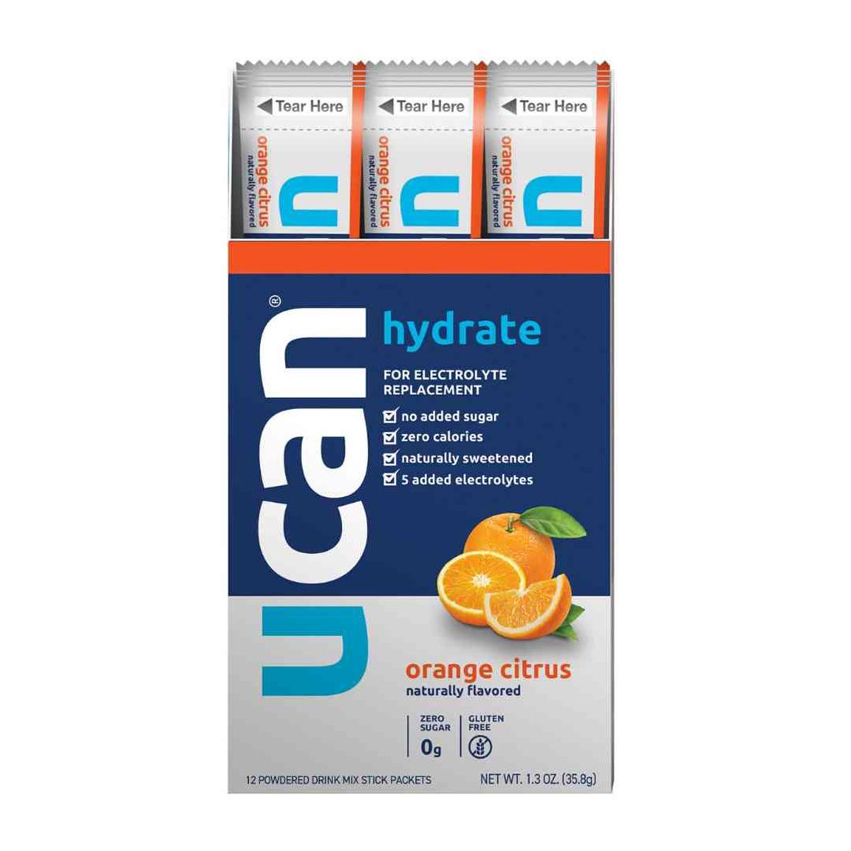 Ucan Hydrate - FlavorOrange Citrus, Orange Citrus, large, image 1