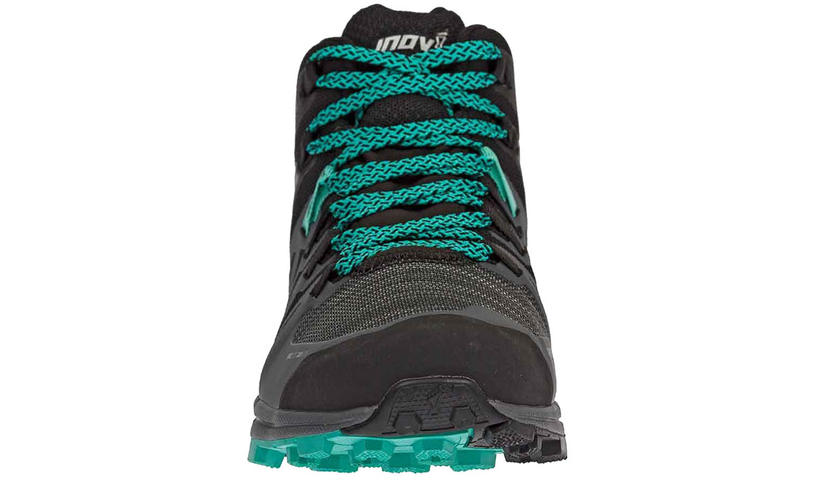 Women's Inov-8 Roclite 320 Gore-Tex Trail Running Shoe - Color: Black/Grey/Teal (Regular Width) - Size: 6.5, Black/Teal, large, image 3