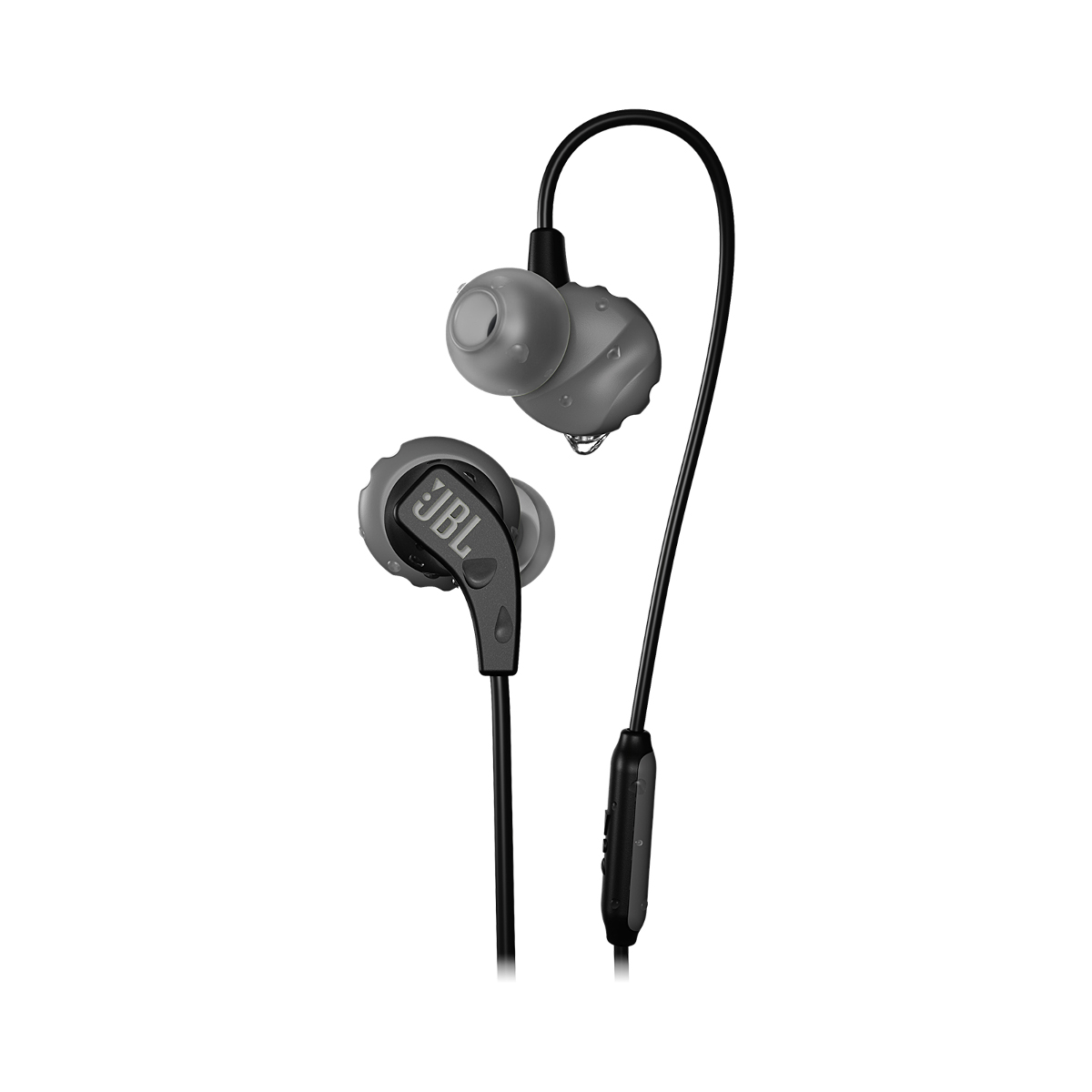 JBL Endurance RUN In-Ear Headphones - Color: Black, Black, large, image 1