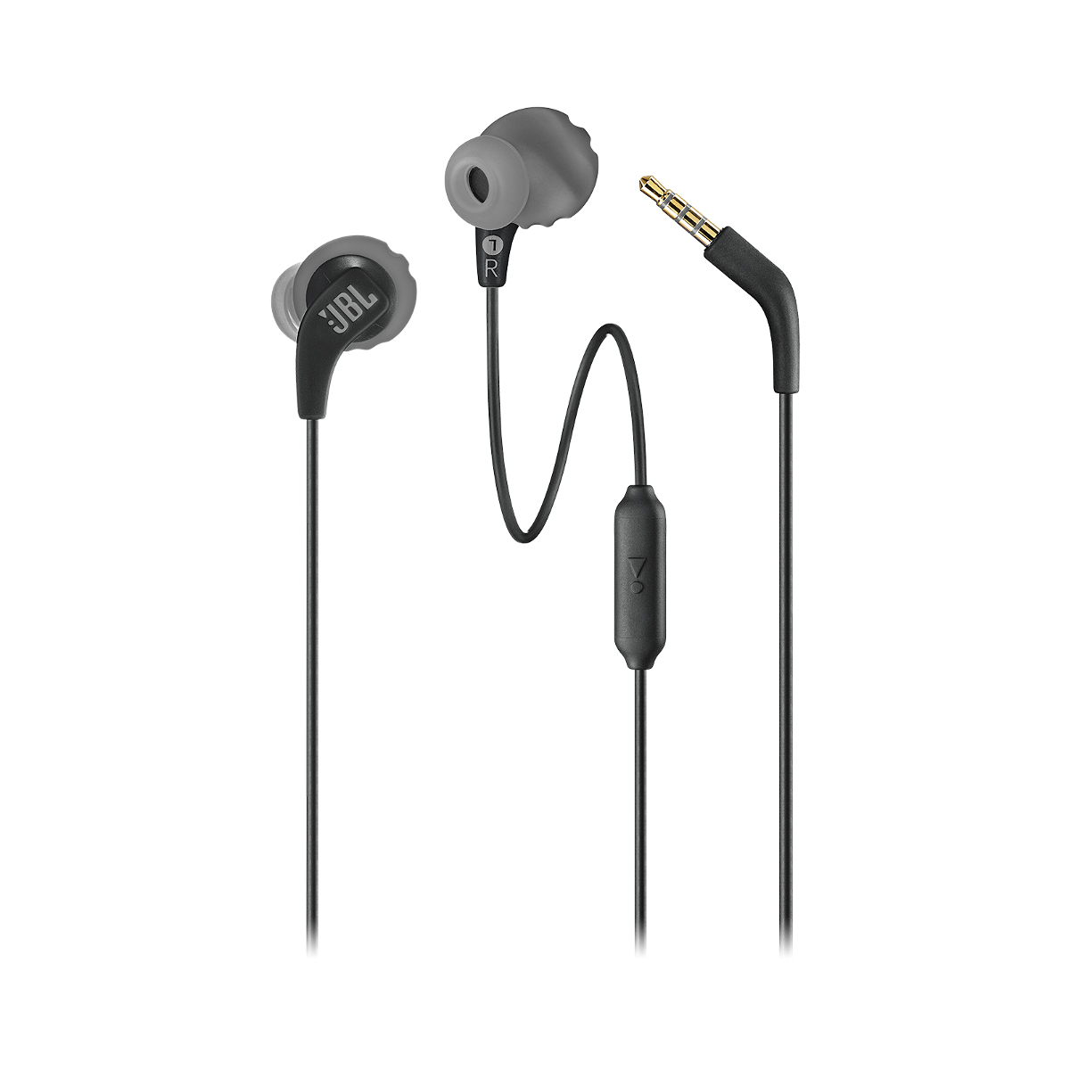 JBL Endurance RUN In-Ear Headphones - Color: Black, Black, large, image 4